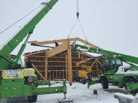 Bâtiments agricoles aux Seignes (2015-2016), Gilley (25)