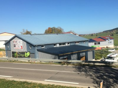 Garages ossature bois (2017), Les Fins