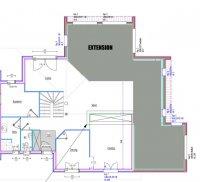Extension bois de 48m2, Fournets-Luisans