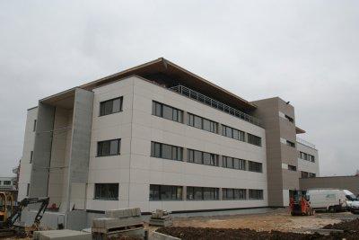 Pôle Emploi Agence régionale Besançon (2010), Besançon, quartier Temis (25)