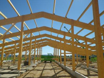 Bâtiment agricole à Gilley (2016), Gilley (25)