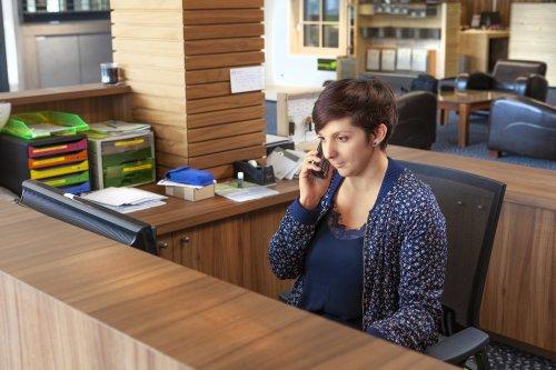 Marie - Accueil - Assistante commerciale