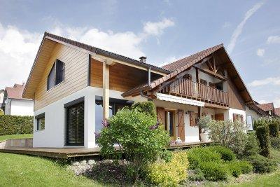 Extension bois sur maison tradi, Villers-Le-Lac (2009)