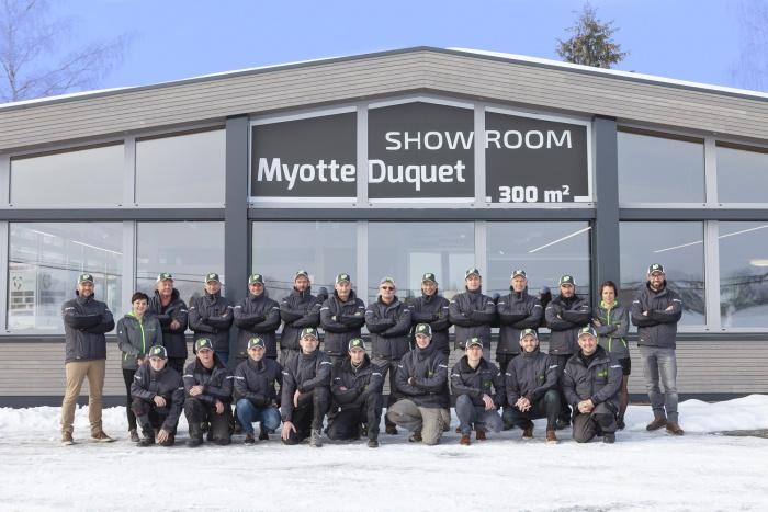 L'équipe Myotte-Duquet - janvier 2019